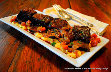 Apple Braised Short Ribs