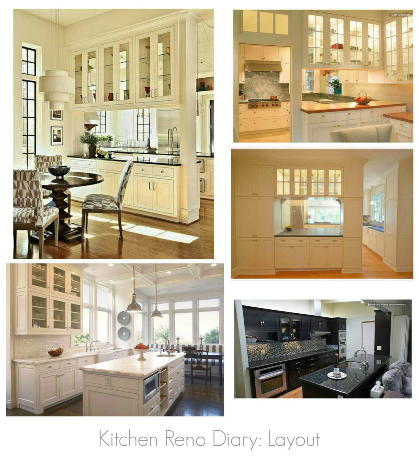 Kitchen Reno Diary 2 {Inspiration Board}