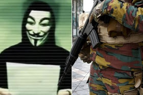 "Hacker group ""ANONYMOUS'' claims Isis is planning multiple terror attacks today"
