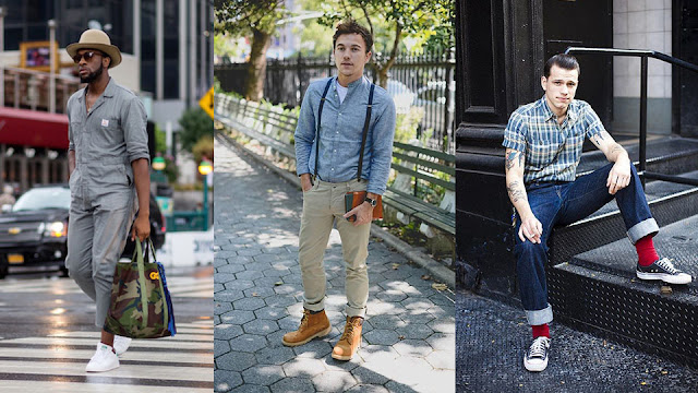 Gaya Pria Millennials saat kerja