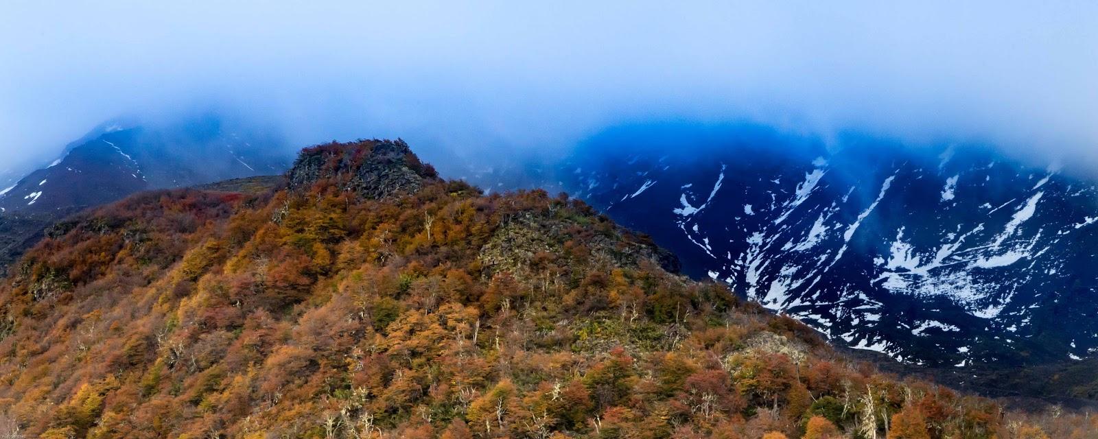 Patagonia Norte Safari Fotográfico y workshop por Alejo Sánchez, Photo Travel, Bosques patagónicos, Nieve, Montañas, Parque Nacional Nahuel Huapi, otoño, autumn