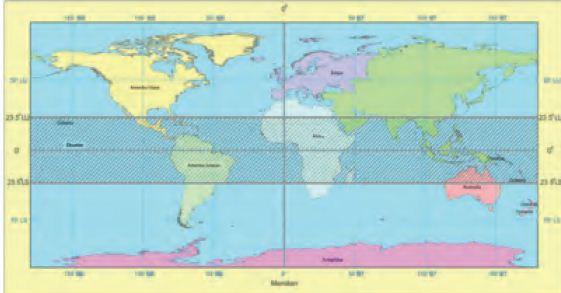 Letak Indonesia di peta dunia