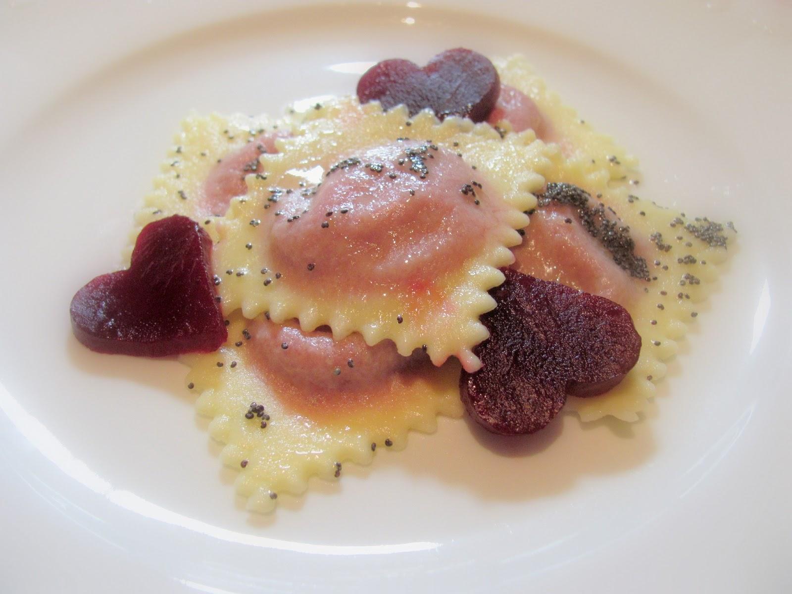 Tra dolce ed amaro: Herzig: Cuoricini alle barbabietole con burro al ...