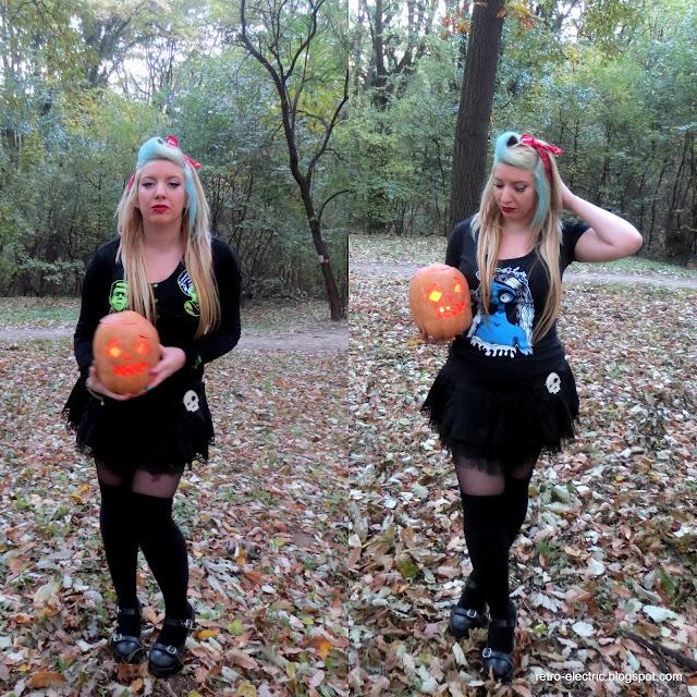 goth girl rockabilly psychobilly halloween