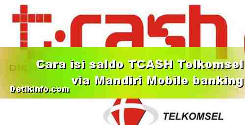 Topup TCASH Wallet Telkomsel