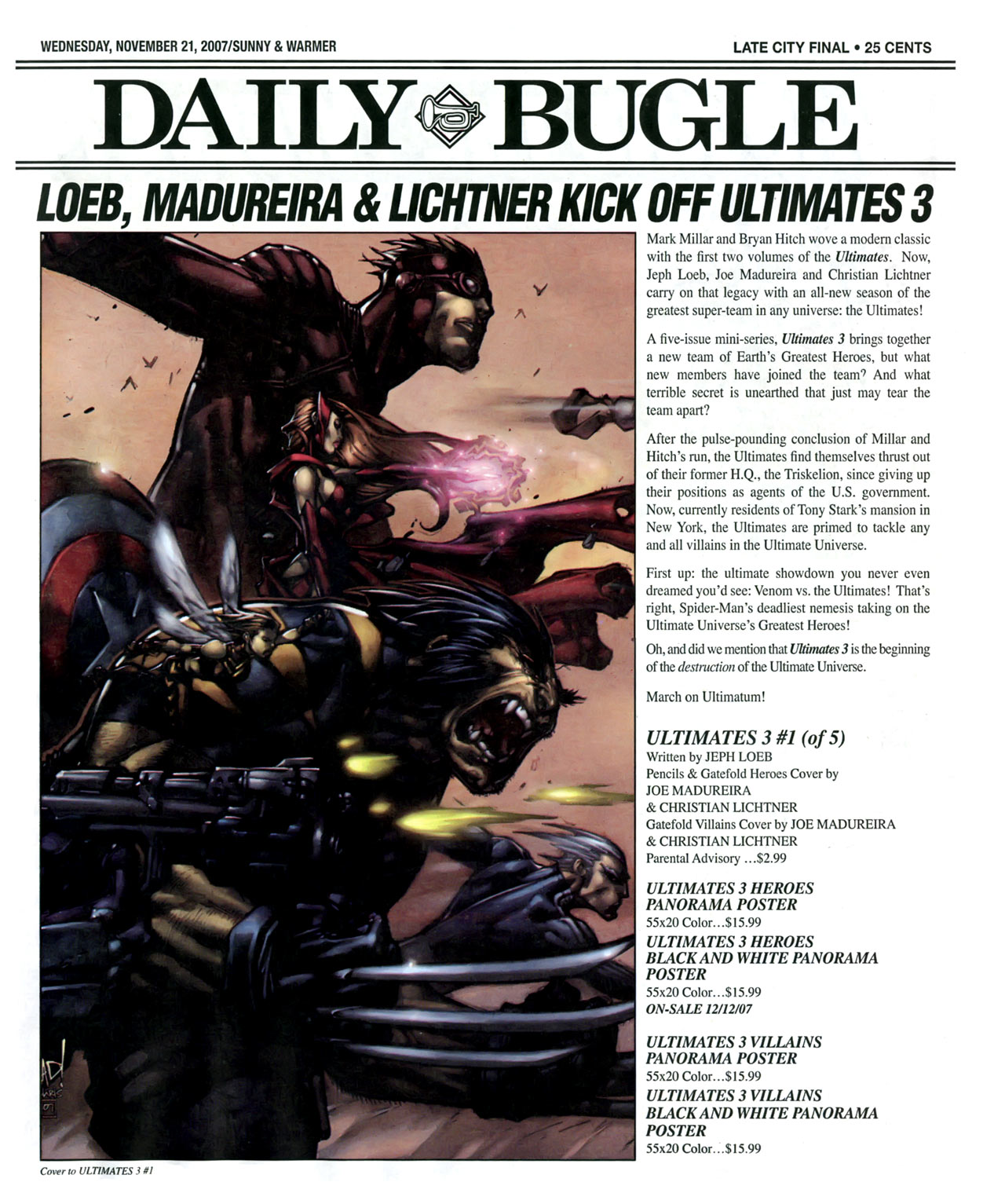 Read online Daily Bugle (2006) comic -  Issue #15 - 2