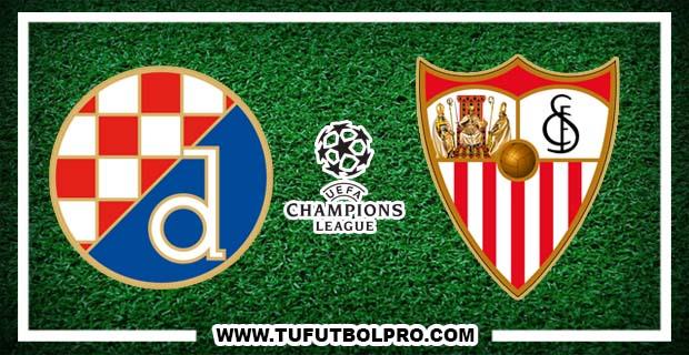 Ver Dinamo Zagreb vs Sevilla EN VIVO Gratis Por Internet Hoy 18 de Octubre 2016