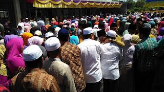 Wabup : 25 Orang  Jamaah Umrah Dilepas