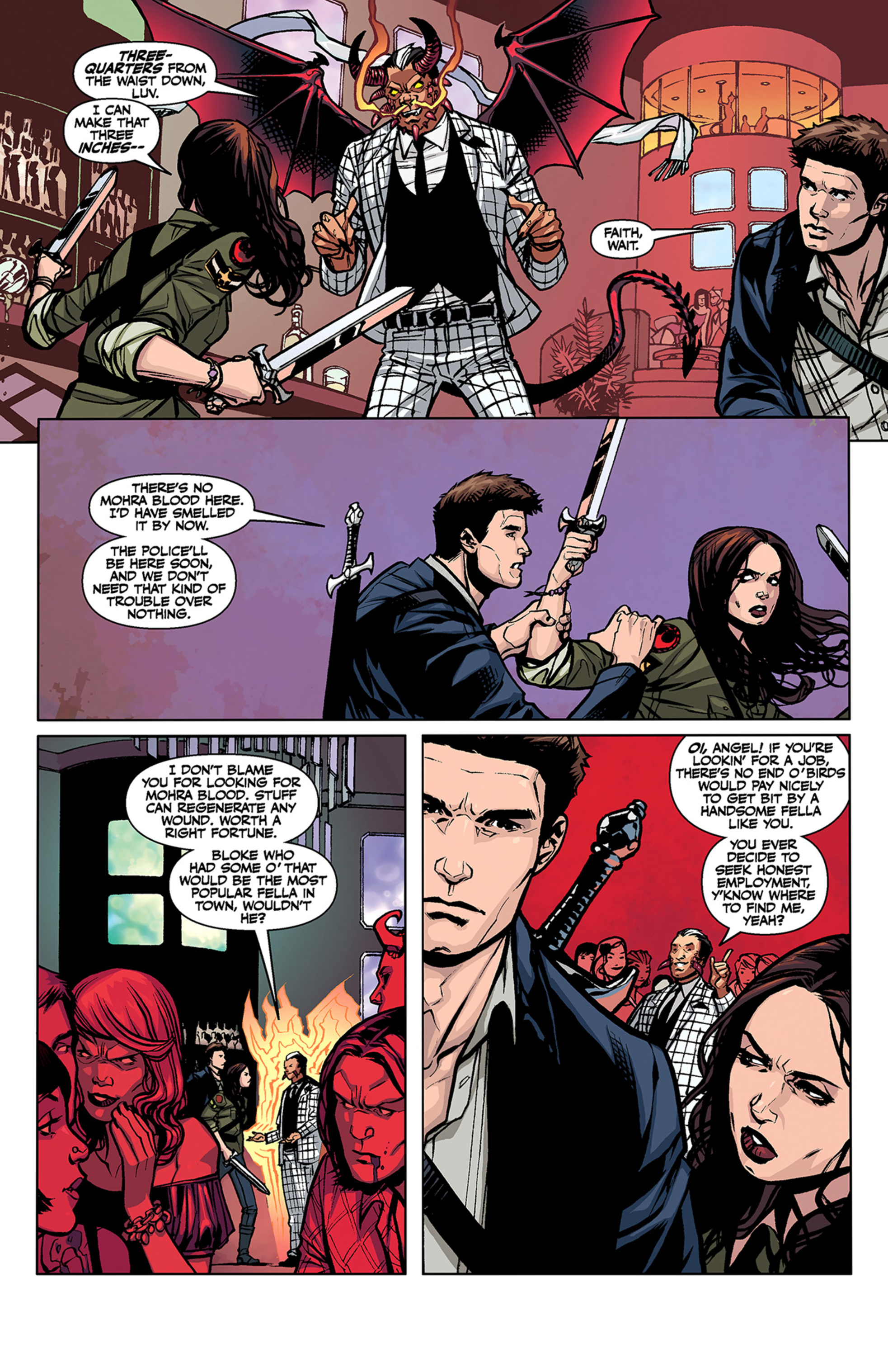 Read online Angel and Faith comic -  Issue #3 - 6