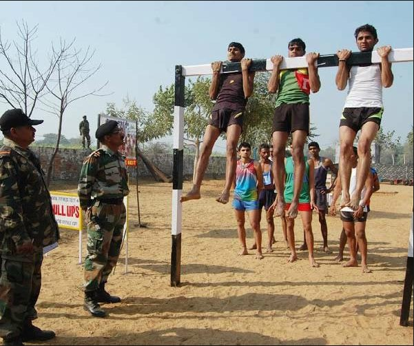 Sonbhadra Army Rally, Indian Army Rally, Open Bharti Rally