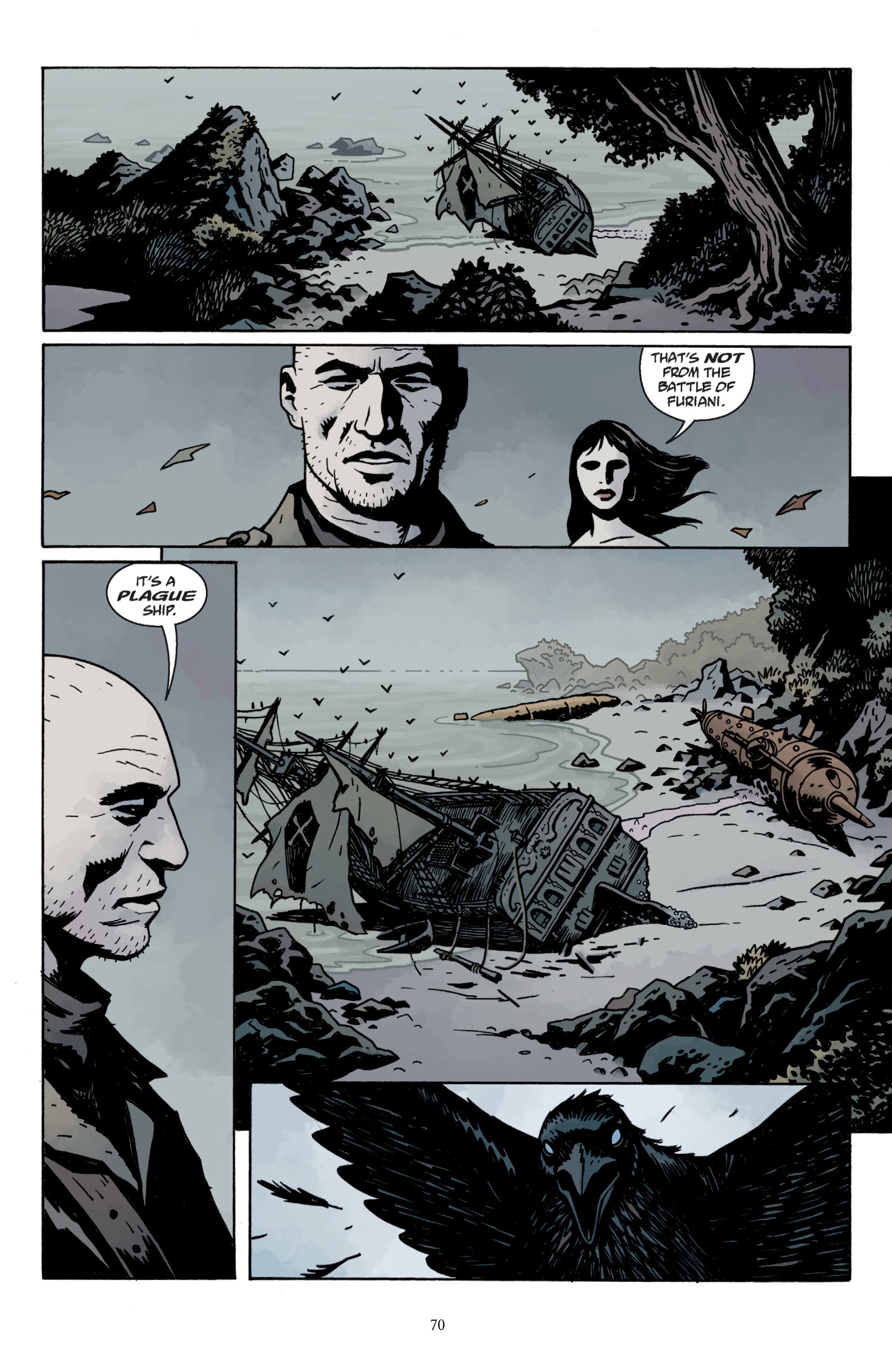 Read online Baltimore: The Plague Ships comic -  Issue # TPB - 72