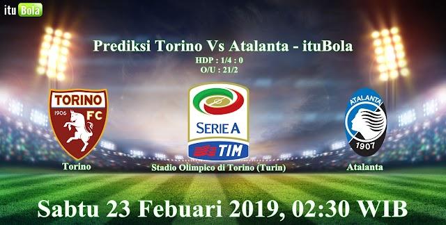 Prediksi Torino Vs Atalanta - ituBola