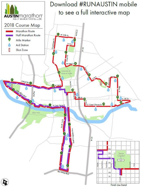 Austin Marathon Started with New Route