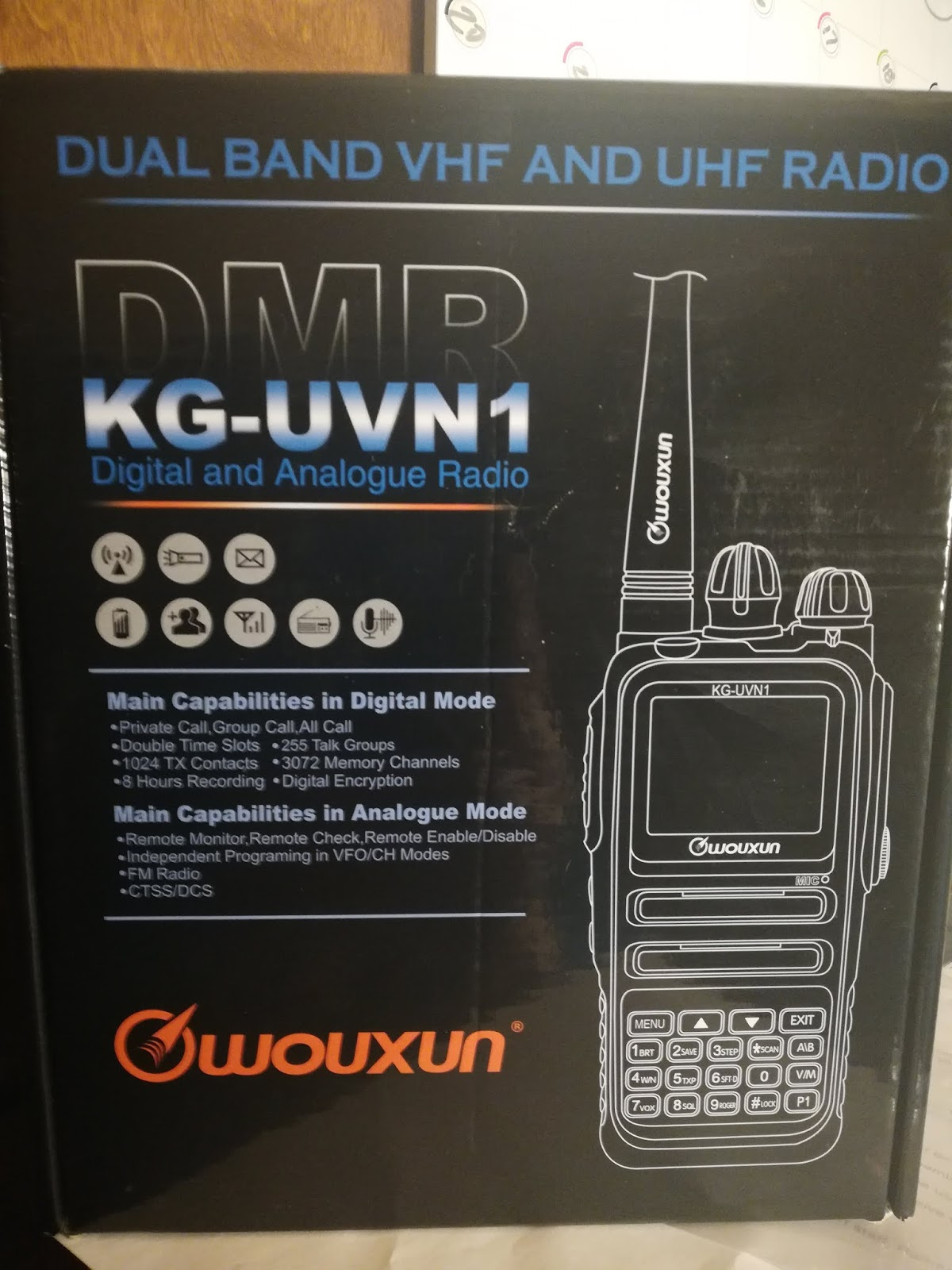 Meet The Wouxun KG-UVN1 DMR Dual Band Hand Held, A Review By KG7GUO