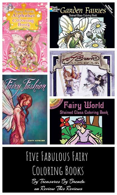 Five Fabulous Fairy Coloring Book Reviews
