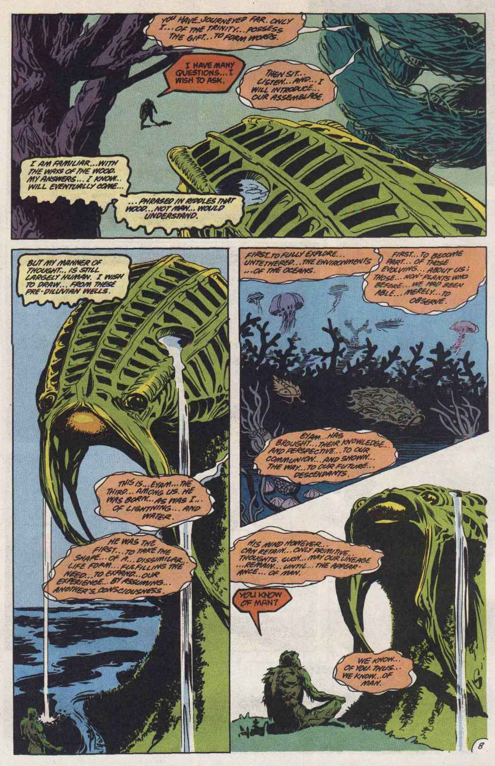 Swamp Thing (1982) Issue #89 #97 - English 9