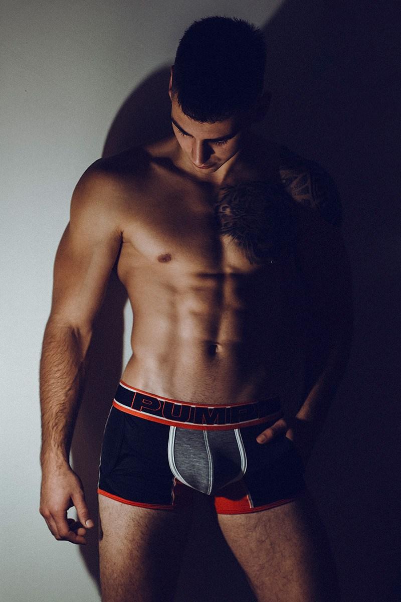 Bulge Alert: Jericó Jesús Shirtless by Adrian C. Martin