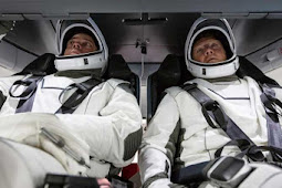 Robert Behnken and Douglas Hurley Make Final Preparations for NASA's First Private Space Launch