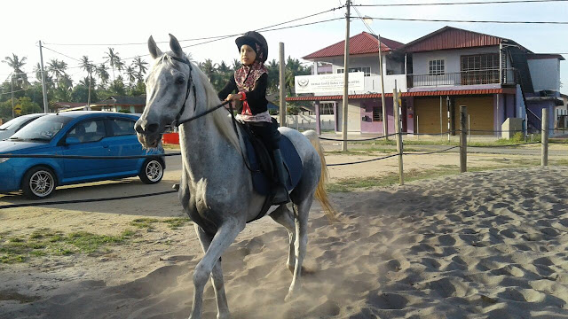 Aktiviti Berkuda di Kampung Penchalang || Hanna 7