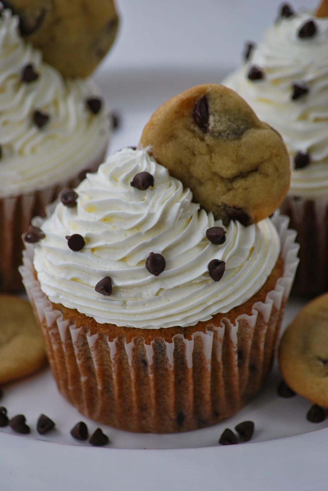 Chocolate Chip Cookie Cupcake