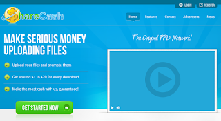 sharecash, paid per download, paid per upload