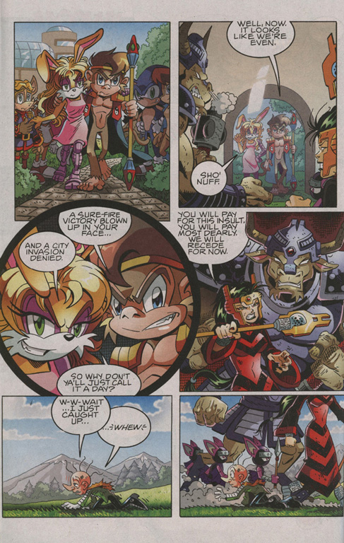 Read online Sonic The Hedgehog comic -  Issue #206 - 15