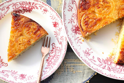 gateau citron polenta et flocons d'avoine