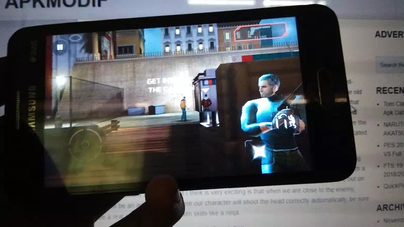 Tom Clancy's Splinter Cell: Conviction HD Apk Data Mod
