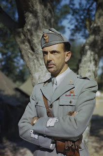 Umberto II, Italy's exiled king, was joined by Giovanna in Portugal