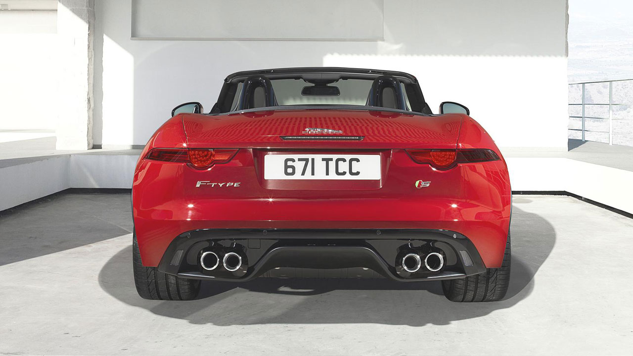 Jaguar F Type Convertible Front Jaguar F Type Convertible Back