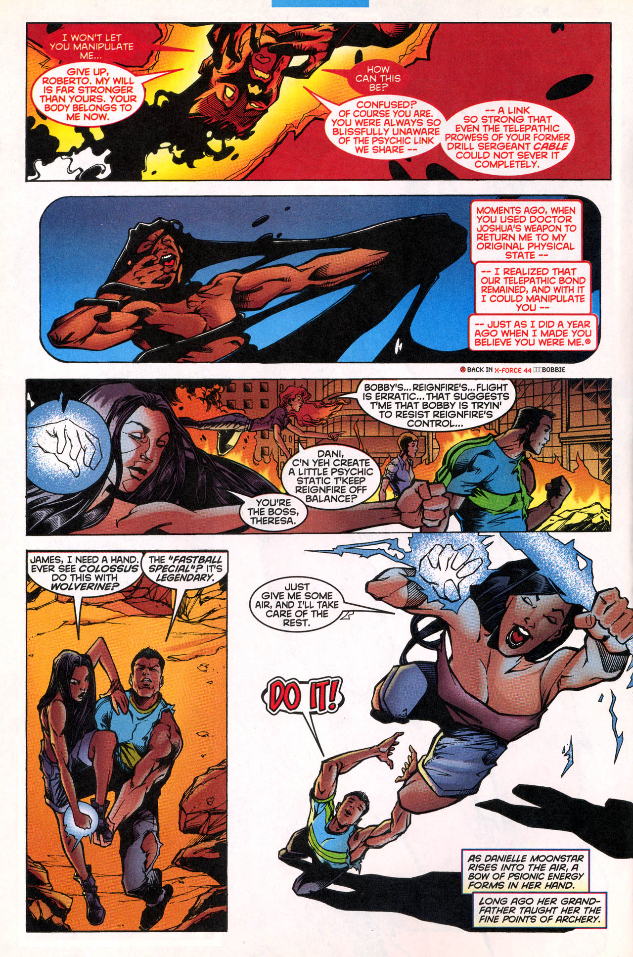 Read online X-Force (1991) comic -  Issue #80 - 7