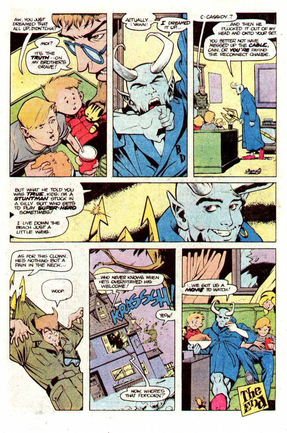 Read online Secret Origins (1986) comic -  Issue #24 - 20