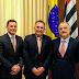 Em agenda da Aprecesp, prefeito de Santa Rita esteve reunido com vice-governador
