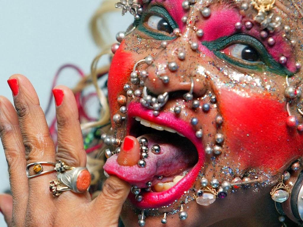 Most pierced woman ~ BENGHAZI