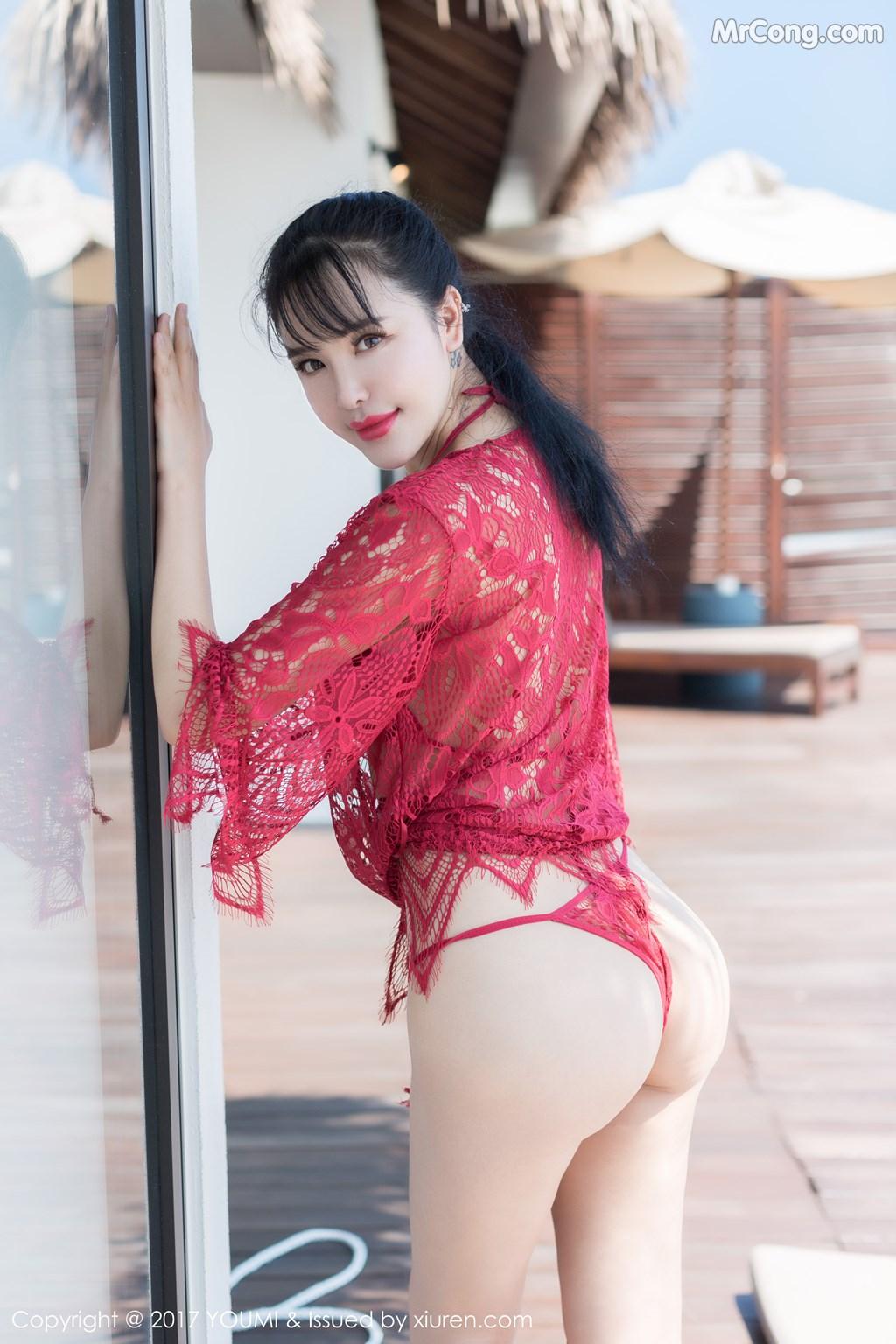 Image YouMi-No.101-Liu-Yu-Er-MrCong.com-004 in post YouMi No.101: Người mẫu Liu Yu Er (刘钰儿) (49 ảnh)