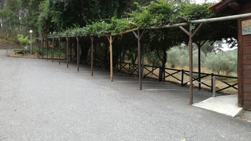 Parque de Estacionamento coberto