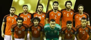 منتخب مصر يفوز بجائزة أفضل منتخب إفريقى عام 2017