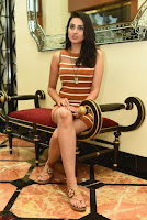 Actress Nikhita in Spicy Small Sleeveless Dress ~  Exclusive 024.JPG