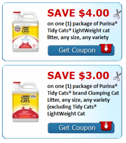 image regarding Tidy Cat Litter Coupons Printable called Tidy Cats Cat Clutter: Help save up toward $7.00 with substantial-truly worth