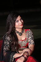 Sirisha Dasari in Red Ghagra Backless Choli ~  044.JPG