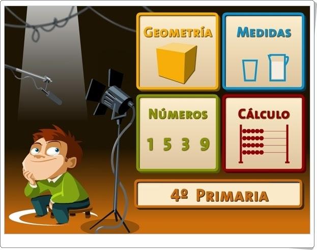 """""""Juegos, Números… ¡Acción!"""". 4º de Primaria."""