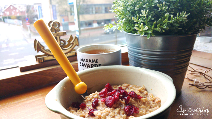 Porridge au petit-déj'