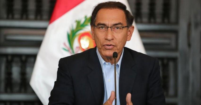 Gobierno asignará más presupuesto a salud, educación y Ministerio Público, Informó el presidente Martín Vizcarra