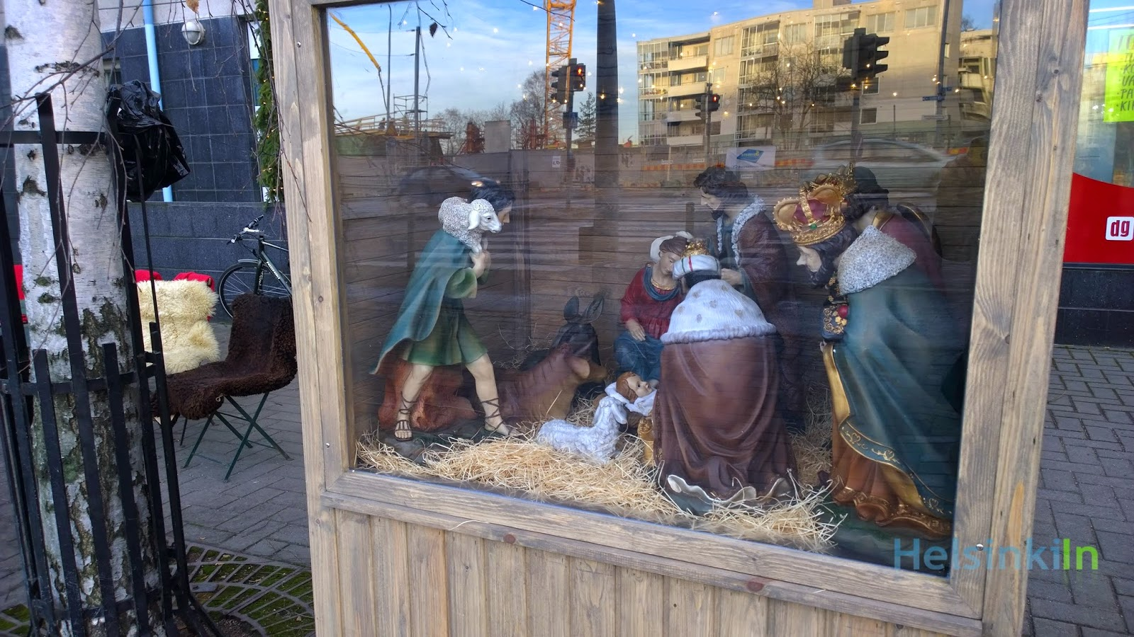 Nativity scene in Lauttasaari