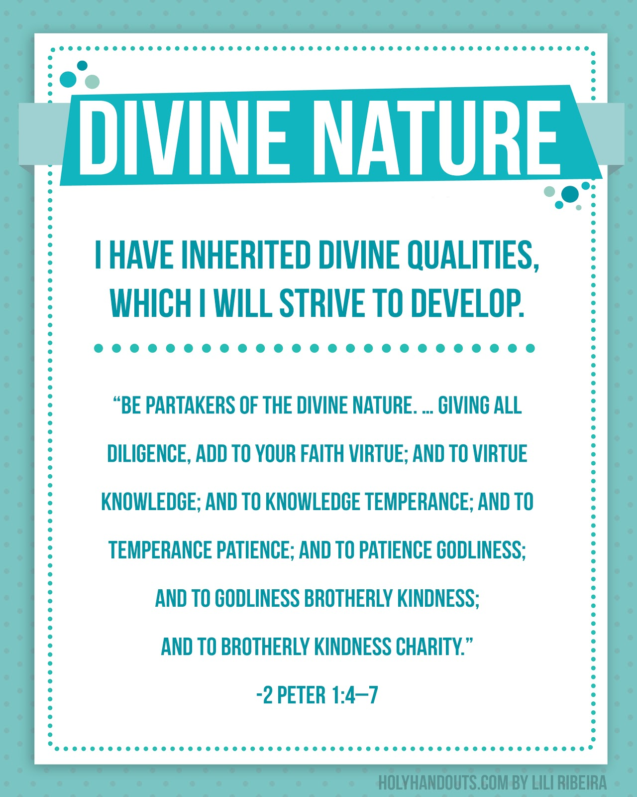 Lds Quotes On Divine Nature. QuotesGram