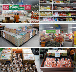 Source: G-7 Holdings. Pictures of GYOMU Supermarket and  Megumi-no-Sato.