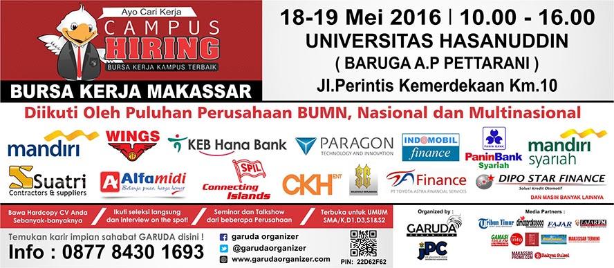 Jobfair di Makassar Unhas