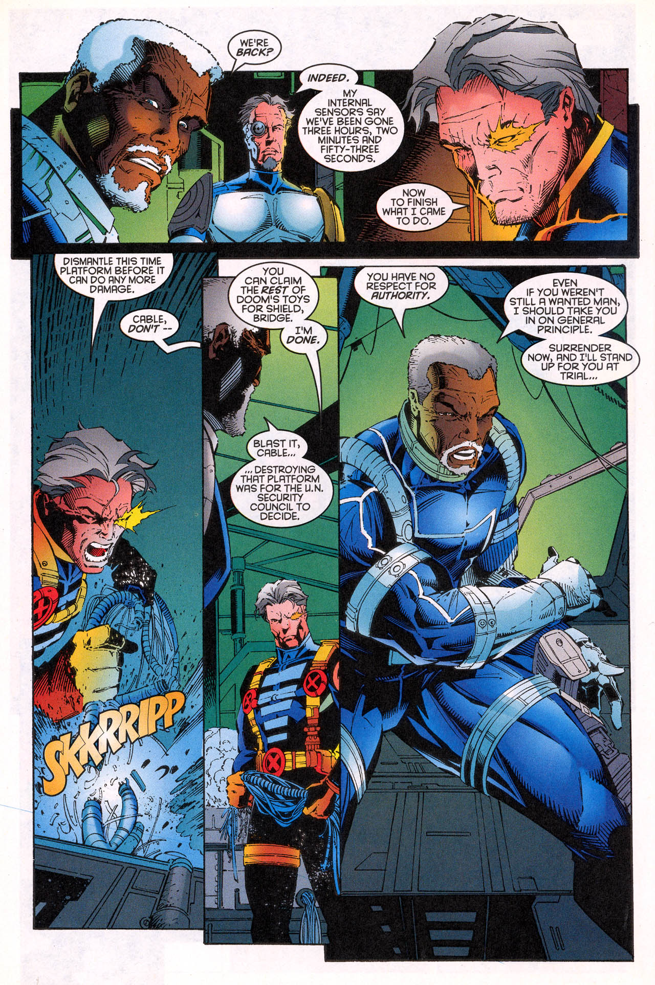 Read online X-Force (1991) comic -  Issue #64 - 34