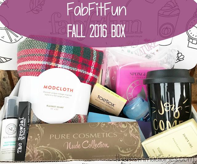 FabFitFun 2016 Fall Box, FabFitFun Promo Code, FabFit Fun Review