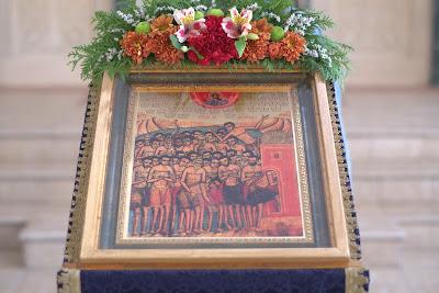 Праздник 40 Севастийских мучеников в Софийском Свято-Успенском кафедральном соборе. ФОТО